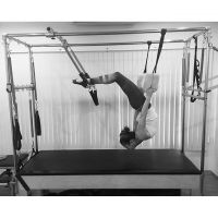 First time Pilates .... If u wanna eat like hell, u must exercise like crazy
