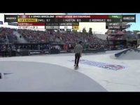 Nyjah Hustion- 9.1 in SLS Finals