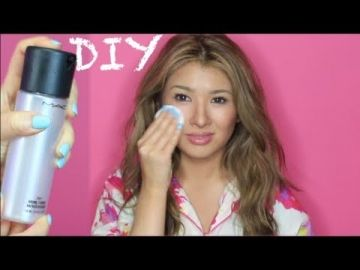 DIY Toner & Makeup Refresher Setting Spray | Glow & Moisturizing